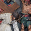 3rd Stations of the Cross - Stock Photo