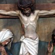 Jesus dies on the cross - Stockfoto