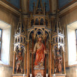 Sacred Heart of Jesus, church altar - Stock fotografie