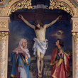Jesus crucified on the cross — Stock Photo