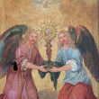 Angels, Door of the tabernacle - Stock Photo