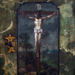 Stock Photo: Jesus crucified on cross