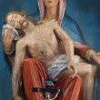 Pieta, Our Lady of Sorrows - Stock Photo