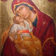 Madonna and Child, Our Lady of the Island — Stock Photo