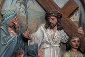 第八站的十字架 — 图库照片