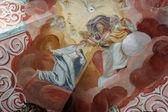 圣母玛利亚的加冕典礼 — 图库照片