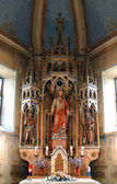 Sacred Heart of Jesus, church altar — 图库照片