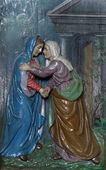 聖母マリアの訪問 — ストック写真