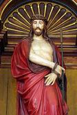 Jesus ferido — Fotografia Stock