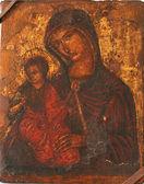 聖母マリアと赤ん坊のキリスト — ストック写真