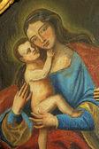Sainte vierge avec enfant jésus — Photo