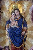 Beata vergine maria con gesù bambino — Foto Stock