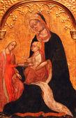Engagement of Saint Catherine of Alexandria — Stock Photo