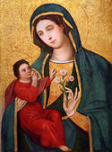 Madonna and Child, Our Lady of Grace — Stock Photo
