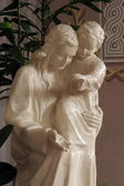 Blessed Virgin Mary with baby Jesus — Stock fotografie