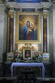 The altar of the Blessed Virgin Mary — Stock Photo