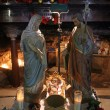 Nativity scene, Haifa, Stela Maris church — Stock Photo