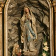 Our lady of Lourdes — Stock Photo