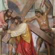 Jesus Takes Up His Cross — Stock Photo