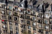 Apartamentos em paris — Fotografia Stock