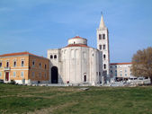 Kyrkan av St donat i zadar, Kroatien — Stockfoto