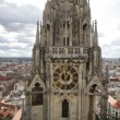 Tower of Zagreb Cathedral — Stock Photo
