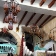 Interior of arabic coffee bar, Sousse, Tunisia — Stock Photo