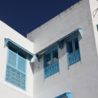 Traditional window from Sidi Bou Said, Tunis — Stock Photo