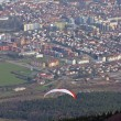 Royalty-Free Stock Photo: Paragliding above Maribor city, Slovenia