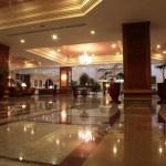 Modern hotel lobby — Stock Photo #15319185