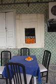 El-Jem Tunisia. Medina cafe — Stock Photo
