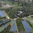 Irrigation scheme on river Neretva - Croatia — Stock Photo