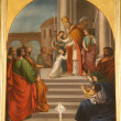 Stock Photo: The Presentation of Jesus at the Temple