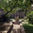 Fountain in atrium of monastery — ストック写真 #15326915