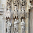 Portal of the Zagreb cathedral — Stock Photo
