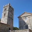 Church in Hum the smallest city in the world, Istra, Croatia — Stock Photo