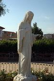 Estátua de nossa senhora de međugorje — Foto Stock
