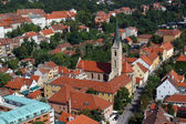 Zagreb-St. Francis of Assisi church — Stock Photo