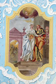 Visitation der jungfrau maria — Stockfoto