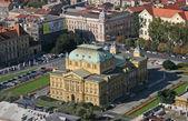 Croatian National Theater - Zagreb — Stock Photo