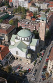St. Blaise church in Zagreb, Croatia — Stok fotoğraf