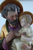 Saint-joseph mit jesuskind — Stockfoto