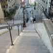 Stairs at Montmartre, Paris - Foto Stock