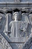 Justiça, basílica sacré coeur, paris — Fotografia Stock