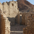 Ruins of mountain oasis Chebika, Tunisia - Stock Photo