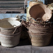 Hand made basketry — Stock Photo