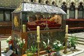 Sarkofagen av välsignade alojzije stepinac, zagrebs katedral — Stockfoto