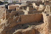 Ruiny górskie oazy chebika, tunezja — Zdjęcie stockowe