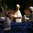 Nativity scene, Tabgha Church of the Multiplication — Stock Photo