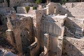 Ruinen von Pools, jerusalem — Stockfoto